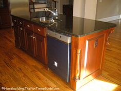 kitchen island with sink and dishwasher | center islands that actually incorporate sinks…maybe a trough sink ...