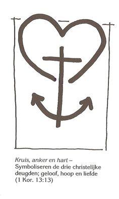 kruis, anker, hart ik geloof deel 4B blz57