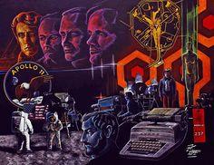 APOLLO 11 de Stanley Kubrick y Jesús Hermida.  La mayor mentira jamás contanda en la historia de la humanidad, y hoy casi 50 años después hay gente que se lo cree.