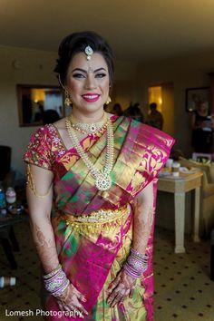 South indian bride. http://www.maharaniweddings.com/gallery/photo/99015