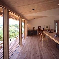東御の家の部屋 リビング-キッチン
