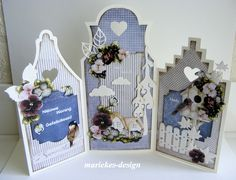 mariekes-bloggie Stencil Diy, Stencils, Rena, Marianne Design, Pop Up Cards, Card Tutorials, Folded Cards, Diy Cards, Paper Crafting