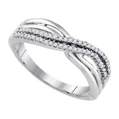 .15 Carat Brilliant Round Diamond Ring Wedding Band