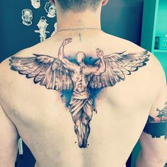 aehooo Source by magnoozorio Tattoos 3d, Neue Tattoos, Body Art Tattoos, Tribal Tattoos, Sleeve Tattoos, Tatoos, Angel Tattoo Designs, Design Tattoo, Tattoo Designs Men