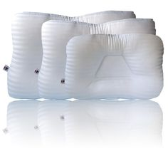 Core Products Tri-Core Cervical Pillow Petite Firm White FIB-219 from 4MD Medical
