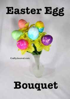 12 Fun Easter Crafts that you can make as gifts or use as seasonal home decor. Easy DIY craft tutorial ideas.