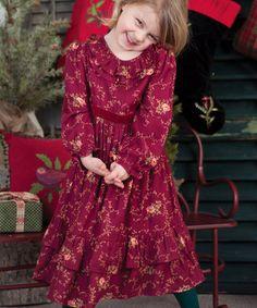 3afaa5ff87d Scarlet Floral Josephina Dress - Infant April Cornell