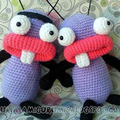 Patronesamigurumi.org es el mayor banco de patrones amigurumi en español. Haz click y descubre los mejores patrones de la red! Crochet Dolls, Knit Crochet, Crochet Hats, Amigurumi Toys, Amigurumi Patterns, Animal Pillows, Crochet Animals, Pet Toys, Minions