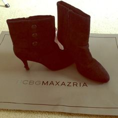 Beautiful Black Swede Boots Beautiful Black Boots. Material : swede Size : 7 1/2 Shoes