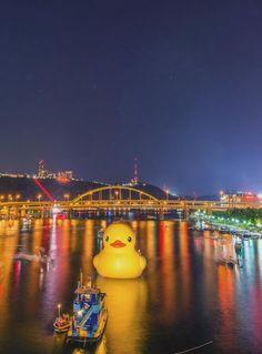 Pittsburgh, Pennsylvania - the Yellow Duck