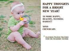 Chewbeads - Teething Jewelry Inspired By Babies, Worn By Moms