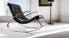 Кожаные кресла-качалки — VilingStore