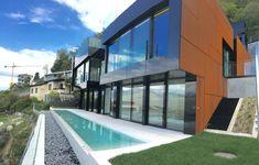 Villa Sole ad Aldesago Lugano, Architetto Mino Caggiula. Lugano, Villa, Real Estate, Mansions, House Styles, Outdoor Decor, Home Decor, Decoration Home, Manor Houses