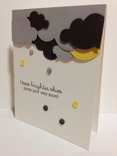 Graygeous Get Well or Cheer Up Card By Cupcakes, Cards and Kim