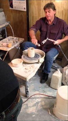 "Tom Wallick adds his ""prehistoric"" texture in 1 minute!!!"