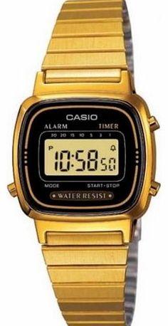Casio Ladies Digital Watch LA-670WGA In Black Gold No description (Barcode EAN = 0079767436513). http://www.comparestoreprices.co.uk/ladies-watches/casio-ladies-digital-watch-la-670wga-in-black-gold.asp