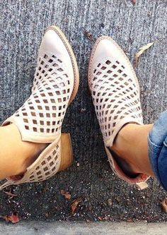 Taggart Booties by Jeffrey Campbell #anthrofave #anthropologie