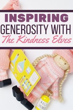 Learn how to inspire generosity in kids with& Kindness Elves as a great way to stay others-focused while spreading holiday cheer! Growth Mindset For Kids, Kindness Elves, Kids And Parenting, Parenting Tips, Diy Projects For Kids, Toddler Preschool, Activities For Kids, Cheer, Mindfulness