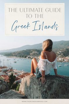 After traveling to many of beautiful destinations in Greece, I created the ultimate guide to traveling the Greek islands with tips to plan your own trip! Travel Outfit Summer Airport, Travel Outfit Spring, Summer Travel, Packing Tips For Travel, Travel Essentials, Travel Guides, Travel Hacks, Giada De Laurentiis, United Airlines