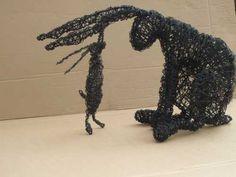 Bunny sculpture.  Want in the worst sort of way.  via:  http://www.woho.co.uk/