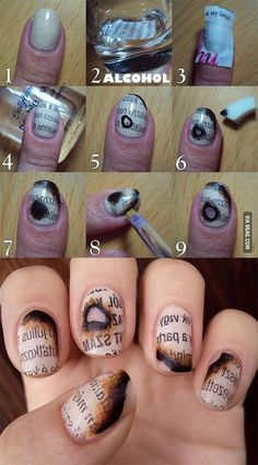 20 Easy Phase By Stage Halloween Nail Artwork Tutorials For Novices 2015 | Nail2016 Model Haircut and hairstyle ideas
