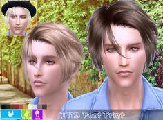 NewSea: J113 Foot Print hair - Sims 4 Hairs - http://sims4hairs.com/newsea-j113-foot-print-hair/