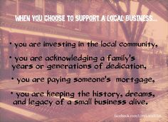 Live • Love • Local. Value the independents where you live.   ‪#‎loveyourlocal‬ #shopsmall #livelocal #smallbusinessmatters