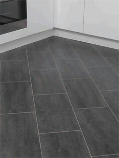 black slate vinyl floor tiles - Google Search | For the Home ...