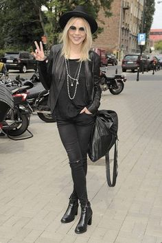 Przecudowna Maja Sablewska, wychowana na polskich ulicach, look prosto z Londynu.