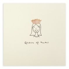 Pencil Shavings Card - Mother's Day 'Queen of Mums' by Ruth Jackson. Happy Birthday Cards Handmade, Birthday Cards For Mom, Mother Birthday, Mothers Day Quotes, Mothers Day Crafts, Happy Mothers Day, Mother's Day Greeting Cards, Birthday Greeting Cards, Birthday Greetings