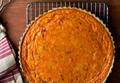 NYT Cooking: Winter Tomato Quiche