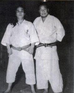 Gogen Yamaguchi and Masutatsu Oyama