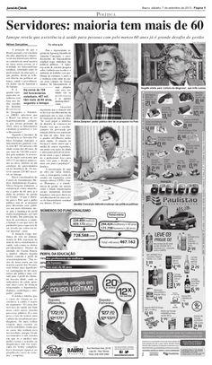 Jornal da Cidade, Bauru (SP), 7/9/2013  Publicação retratou a audiência pública promovida pela Comissão Consultiva Mista do Iamspe (Instituto de Assistência Médica ao Servidor Público Estadual) na Câmara Municipal de Bauru, em 28 de agosto de 2013.