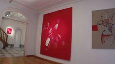 L'exposition propose 12 peintures de Guillaume Bottazzimesurant 22cm x 28cm pour la plus petite et jusqu'à 290cm x 190cm pour la plus grande. Elles sont composées de plâtre fin sur tissus, d'huile…