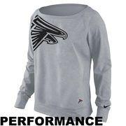 Atlanta Falcons Nike Women's Dri-FIT Epic Wildcard Long Sleeve T-Shirt