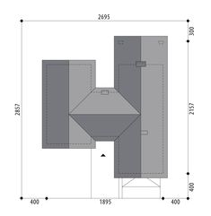 Nevada Bungalow Floor Plans, Modern Bungalow House, Simple House Plans, Dream House Plans, Nevada, Planer, Save Yourself, House Design, How To Plan