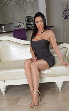 Aletta Ocean tight dress #pornstar black hair #720P #wallpaper #hdwallpaper #desktop White Tank Dress, Katie Fey, Orange Tank Top, White V Necks, Classy Women, Black Women Hairstyles, Tight Dresses, Sexy Outfits, Nice Tops