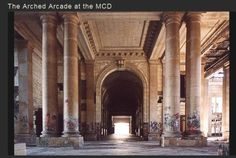 Arched Arcade at the MCD, Detroit
