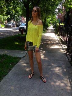 Summer Sweater love #zara #streetstyle  hauteallure.com