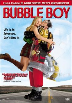 """Directed by Blair Hayes.  With Jake Gyllenhaal, Swoosie Kurtz, Marley Shelton, Danny Trejo. """"Bubble Boy"""" is a comedy about a young man who was born without an immune system and has lived his life within a plastic bubble in his bedroom. When he finds out that the woman he has loved since childhood is about to be married at Niagara Falls, he builds a portable bubble suit and ventures into the outside world to win her affections."""