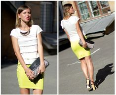 Bite a lime! (by Stacey Uliss) http://lookbook.nu/look/3655813-Bite-a-lime