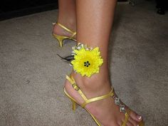 Ankle Prom Corsage