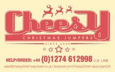 Cheesy Christmas Jumpers