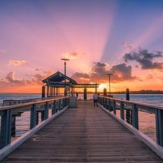 Can you think of a better way to start your day? ⛅️ Photo by @jewelszee - Bribie Island #brisbaneanyday