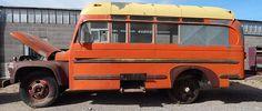 1963 Ford Short School Bus B500 Superior Coach High Roof Tall Boy Short Bus | eBay Old School Bus, School Buses, Short Bus, Bus House, Tall Boys, Vintage Caravans, Busses, Boy Shorts, Campers