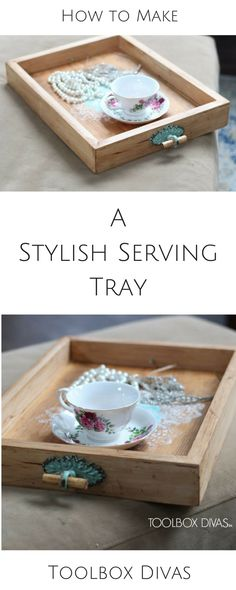 DIY tray - what a wo