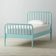 Shop Jenny Lind Teal Twin Bed. Jenny Lind, known as the Swedish Nightingale, was an opera singer who performed in the 1800s. She was so popular in her day, furniture styles and household items were named in her honor.