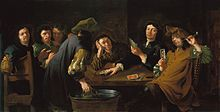 Trappola, a Venetian card game, and the one my heroine plays against the villain Caravaggio, The Villain, 17th Century, Art History, Card Games, Portrait, Gallery, Artwork, Cards