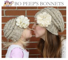 569a8c9b6 11 Best Mommy and Me Hat Sets images