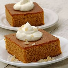 Gluten Free Gingerbread (King Arthur yellow cake mix)